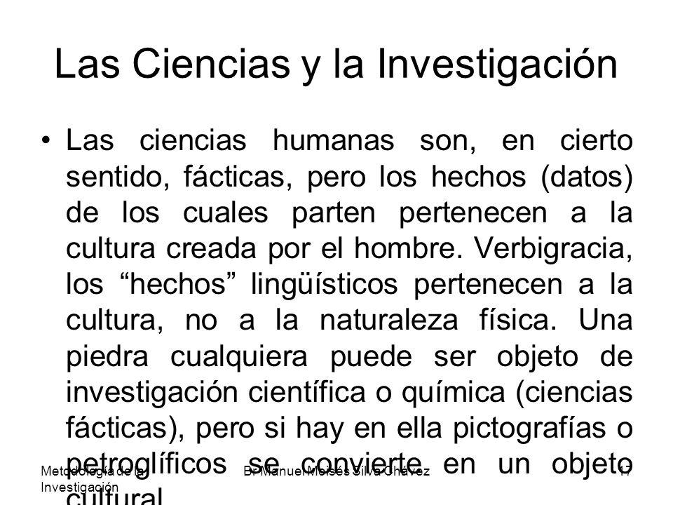 Las Ciencias y la Investigación