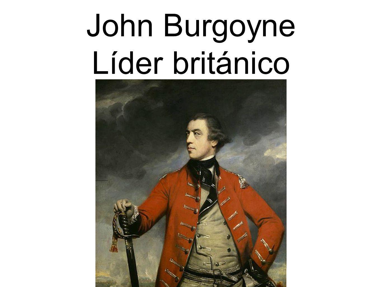 John Burgoyne Líder británico