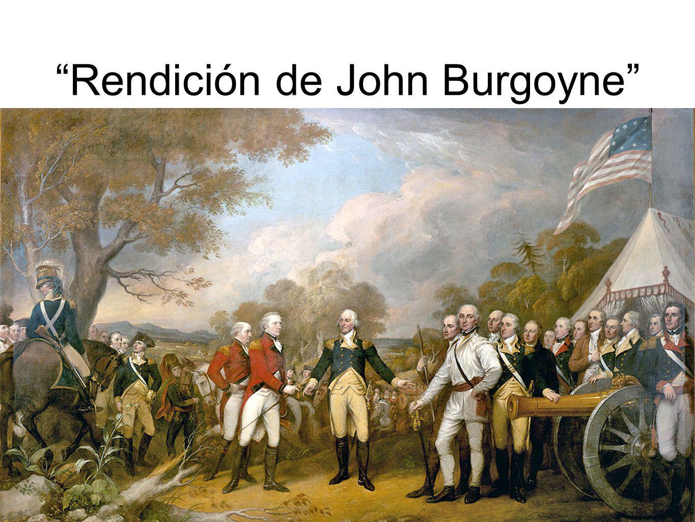 Rendición de John Burgoyne