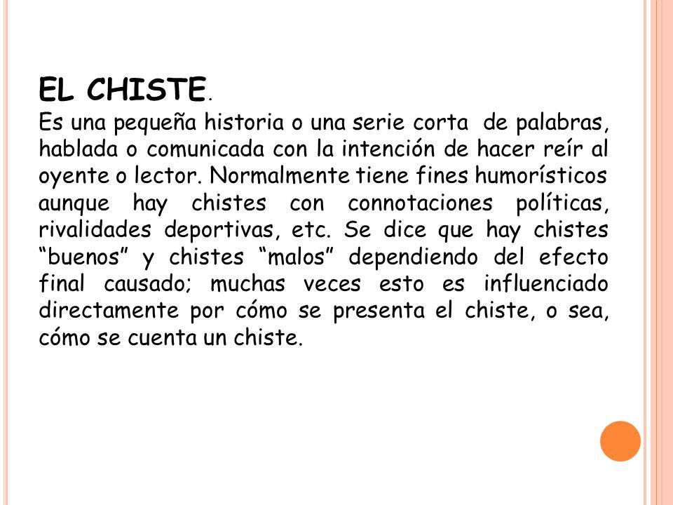EL CHISTE.