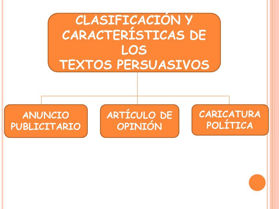 CLASIFICACIÓN Y CARACTERÍSTICAS DE LOS