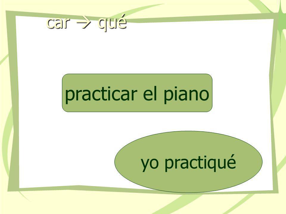 car  qué practicar el piano yo practiqué