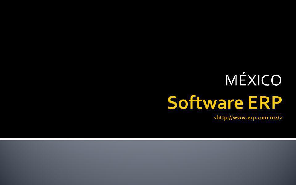 Software ERP <http://www.erp.com.mx/>
