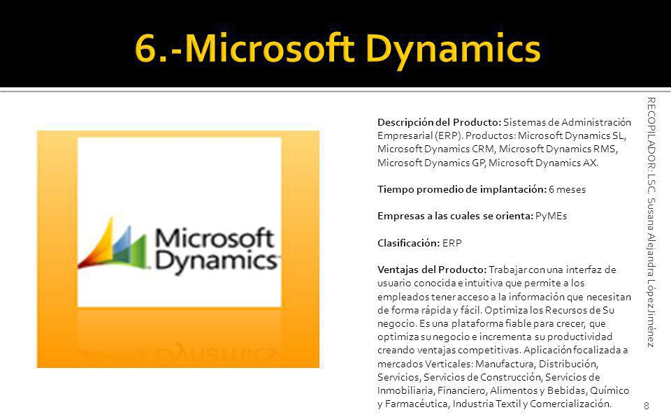 6.-Microsoft Dynamics