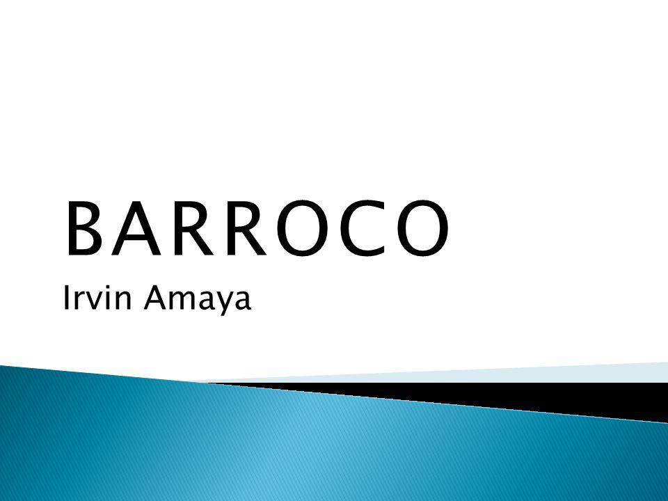 BARROCO Irvin Amaya