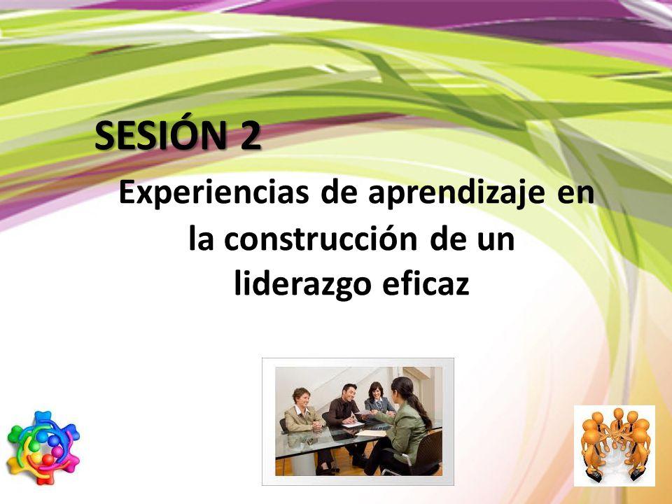 Experiencias de aprendizaje en