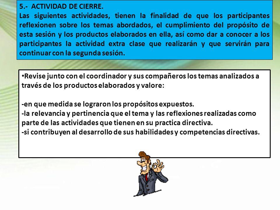 5.- ACTIVIDAD DE CIERRE.