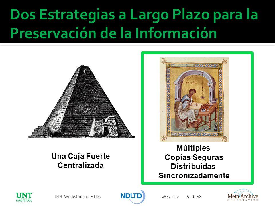 Dos Estrategias a Largo Plazo para la Preservación de la Información