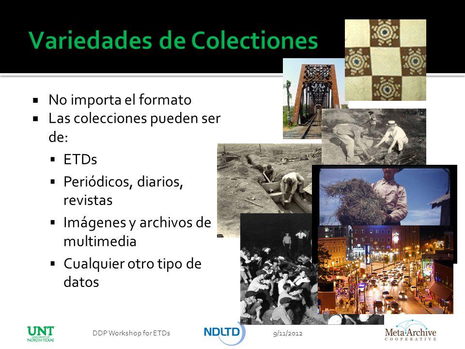 Variedades de Colectiones