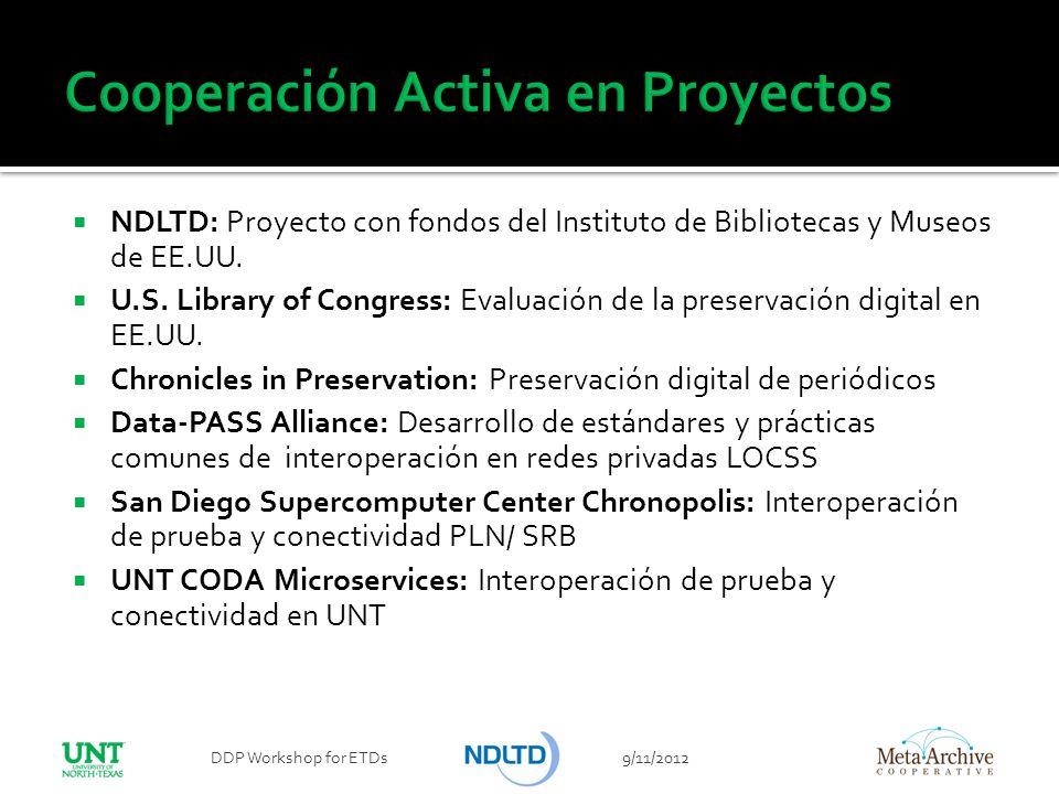 Cooperación Activa en Proyectos