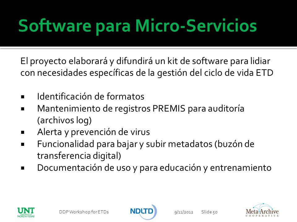 Software para Micro-Servicios