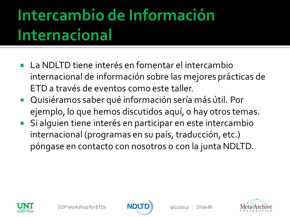 Intercambio de Información Internacional