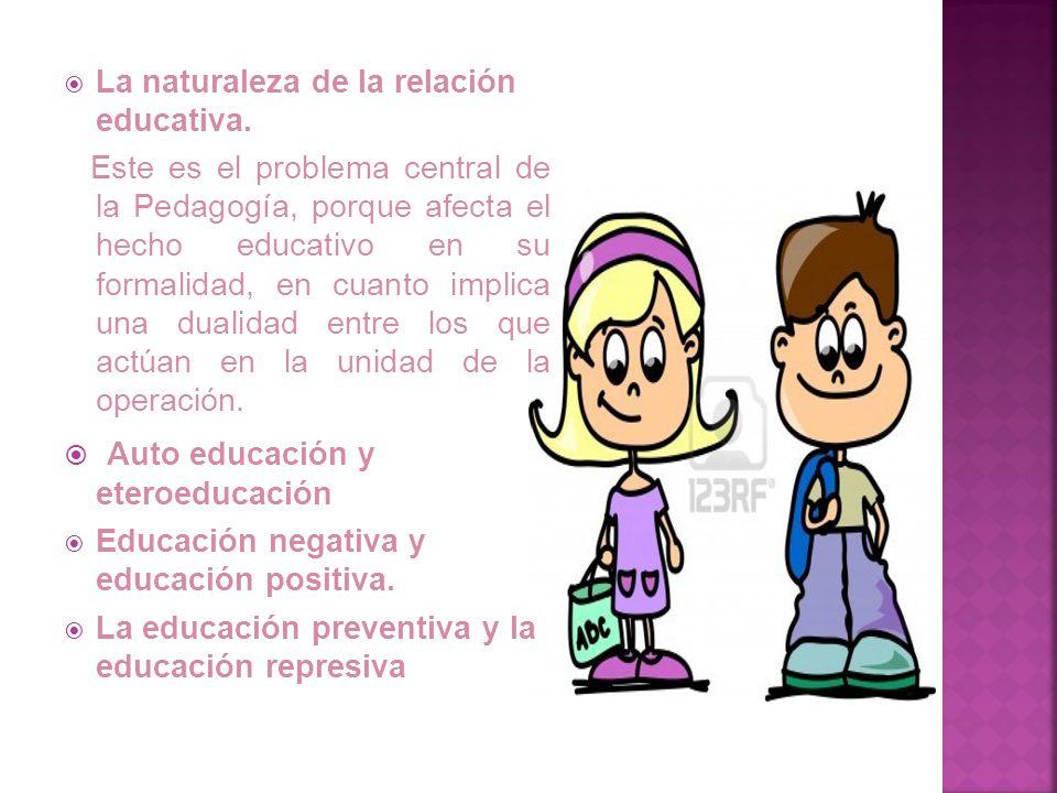 Auto educación y eteroeducación