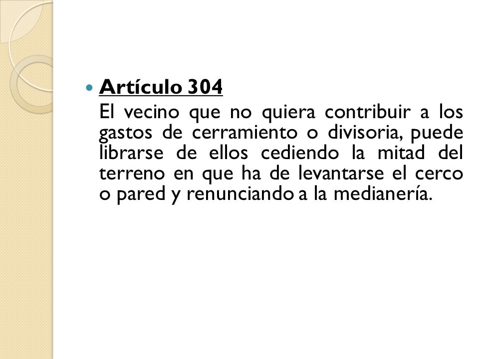 Artículo 304