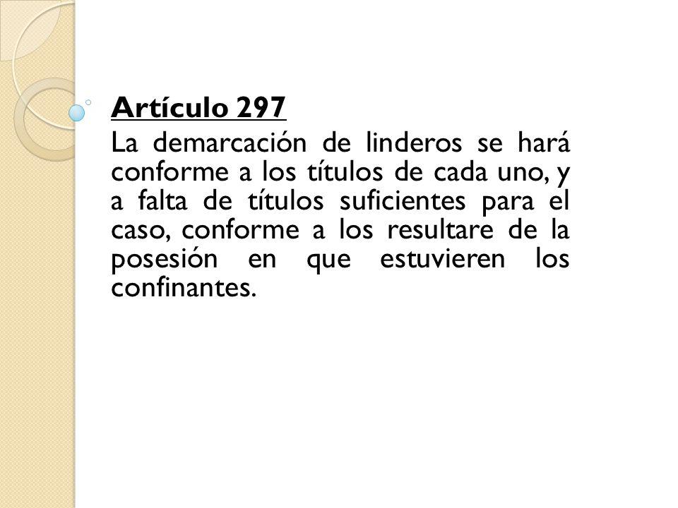 Artículo 297