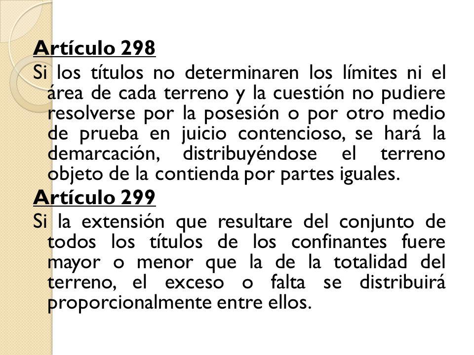 Artículo 298