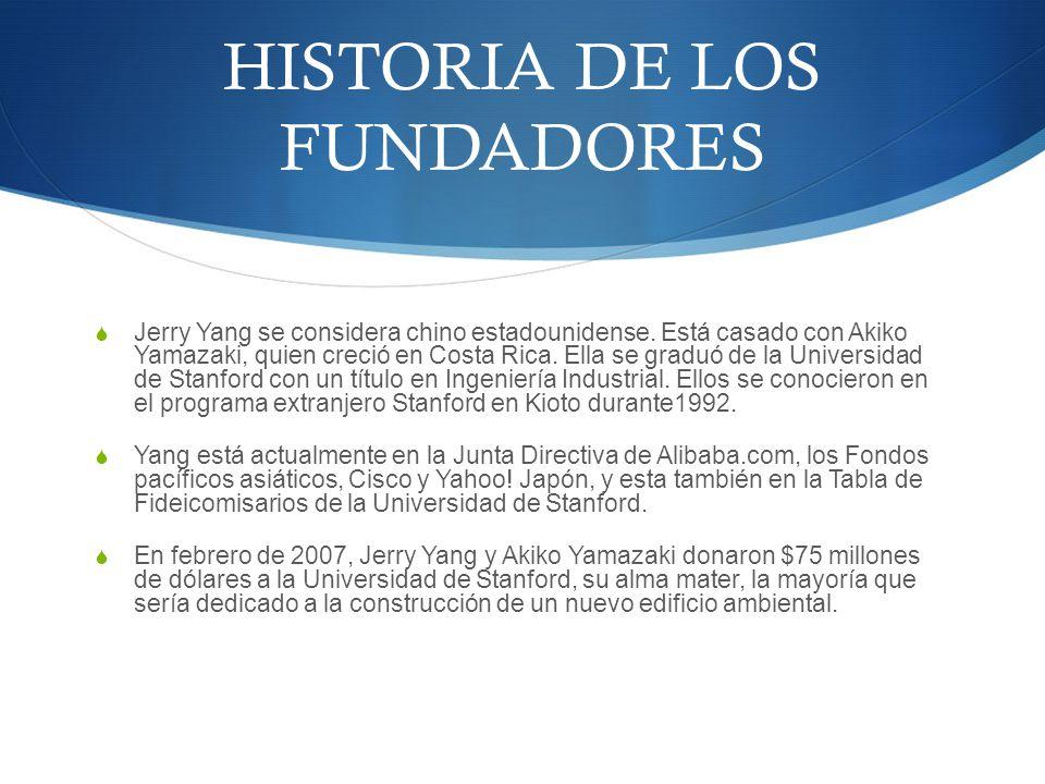 HISTORIA DE LOS FUNDADORES
