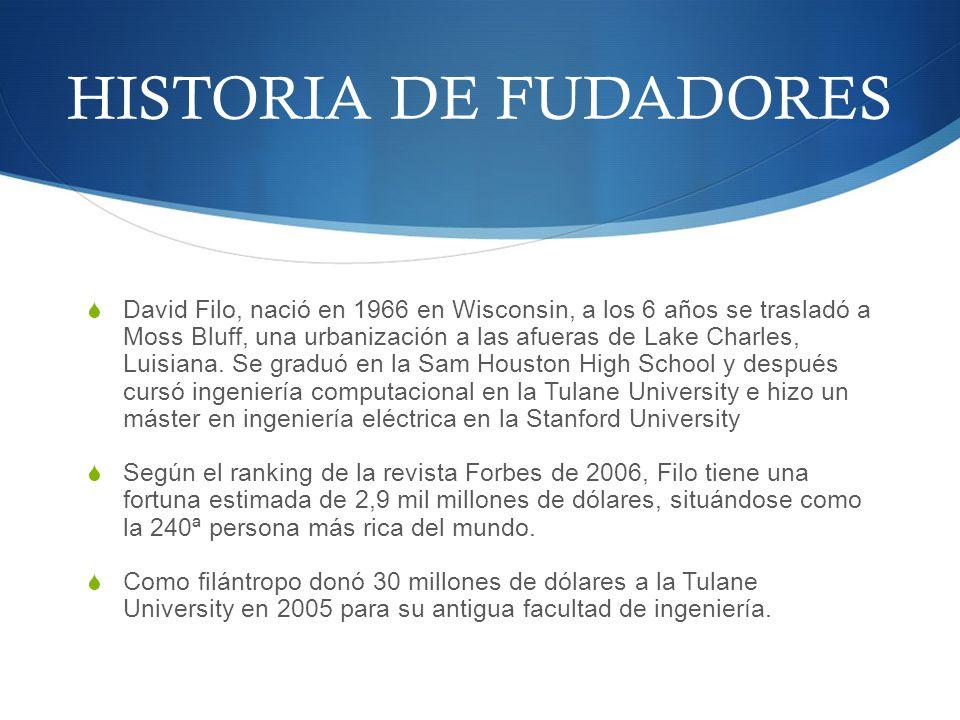 HISTORIA DE FUDADORES