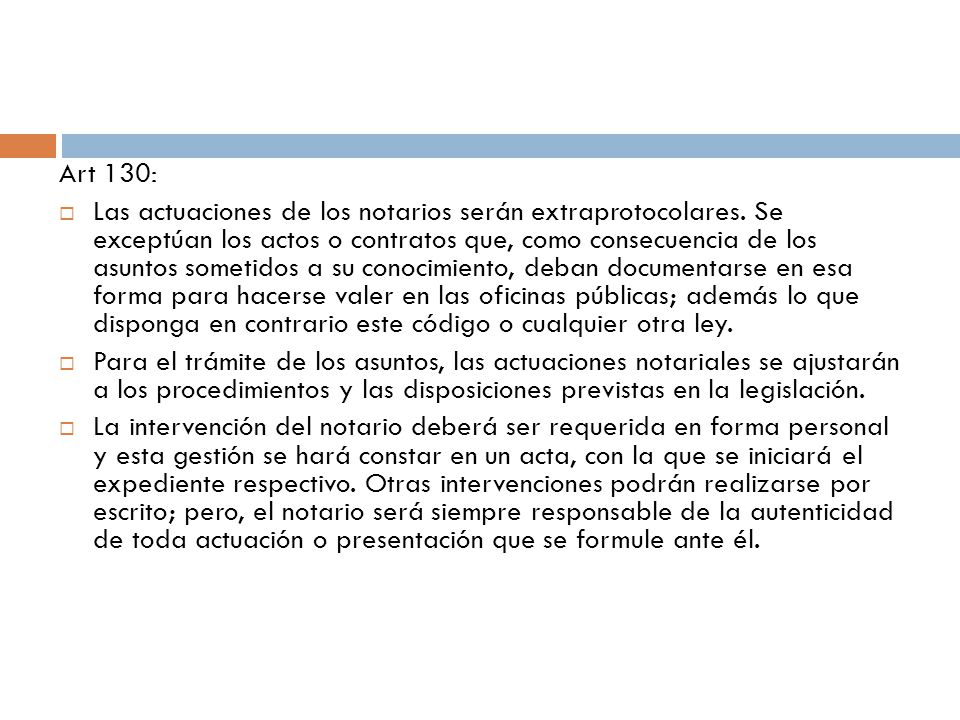 Art 130: