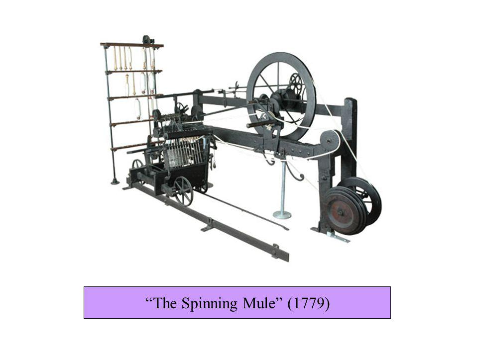 The Spinning Mule (1779)