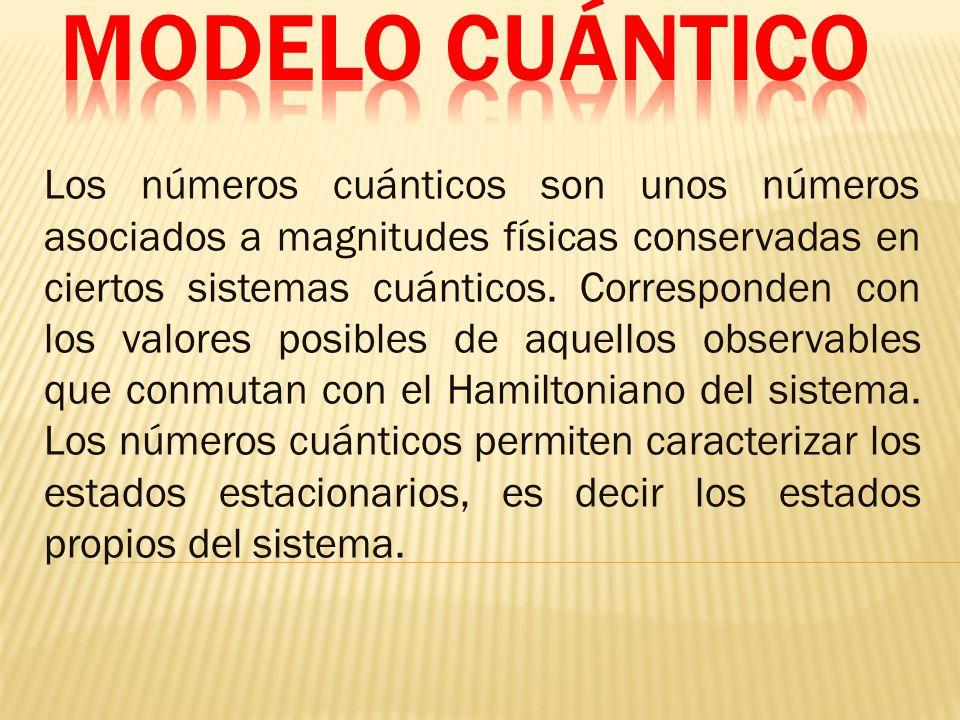 MODELO CUÁNTICO