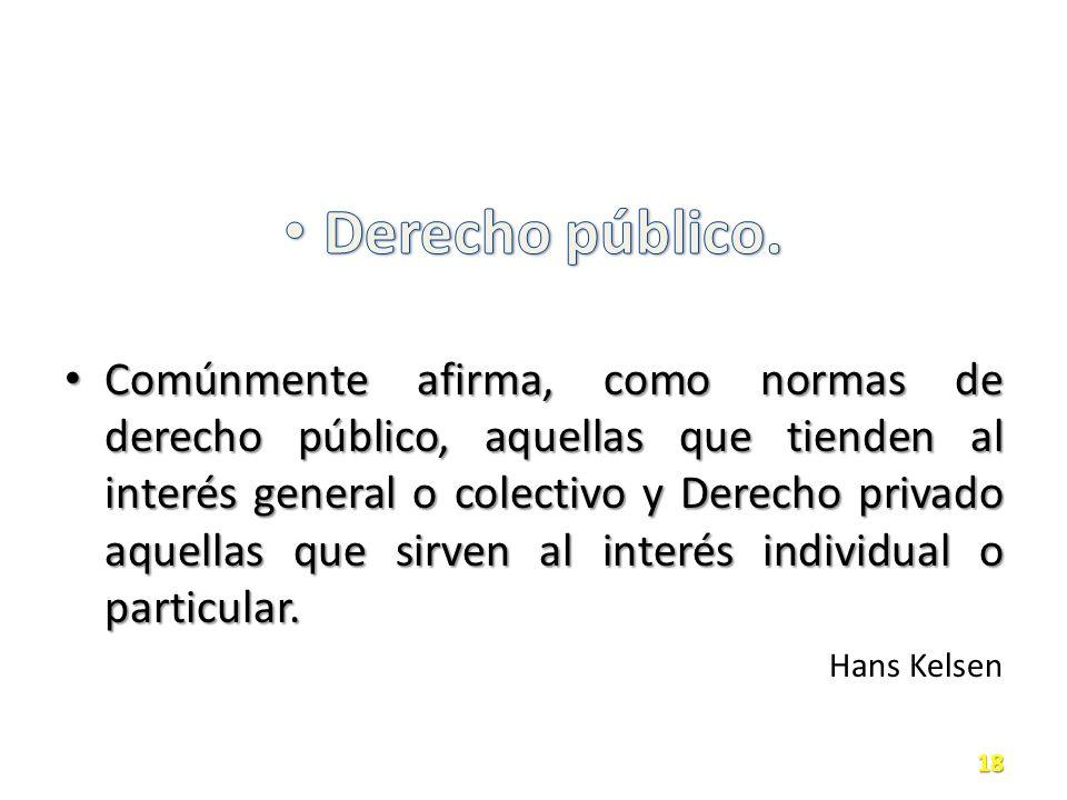 Derecho público.
