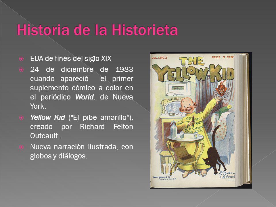 Historia de la Historieta