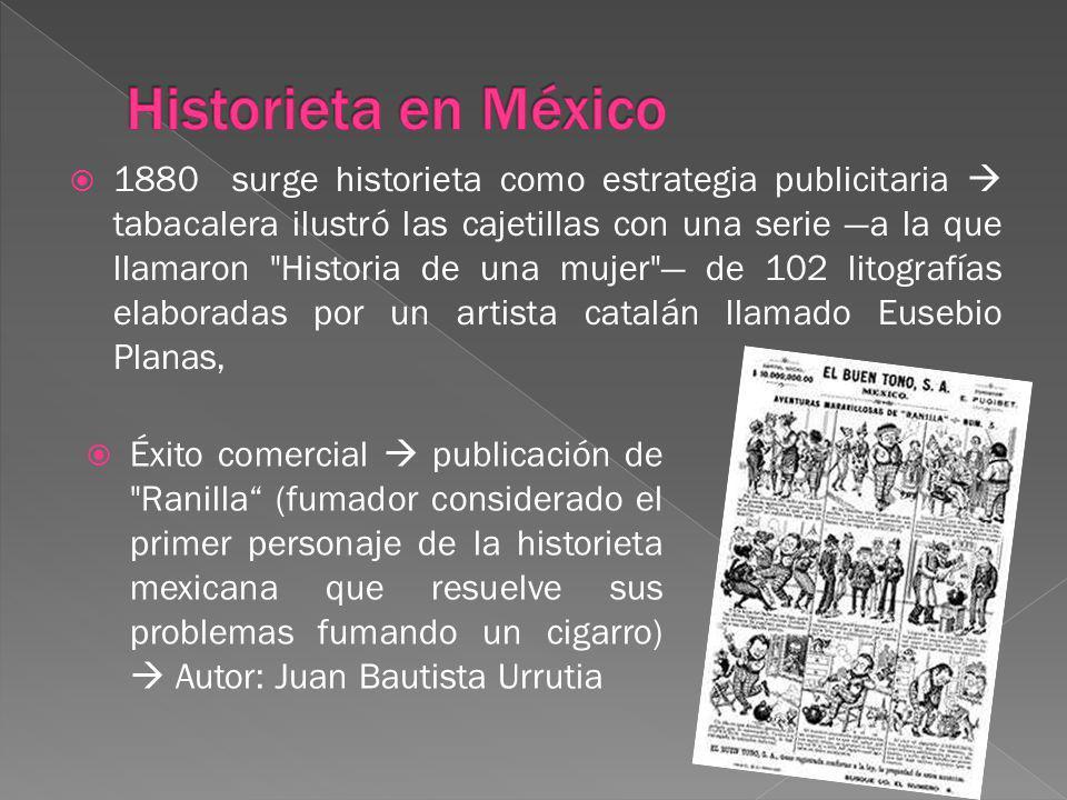 Historieta en México