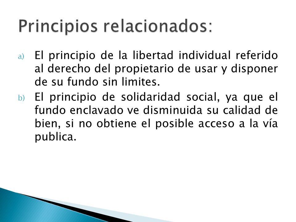 Principios relacionados: