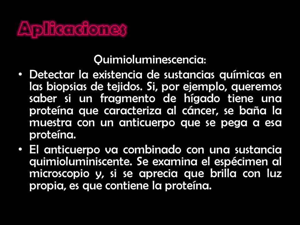 Quimioluminescencia:
