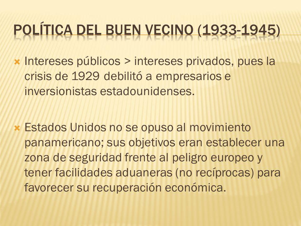 Política del Buen Vecino (1933-1945)