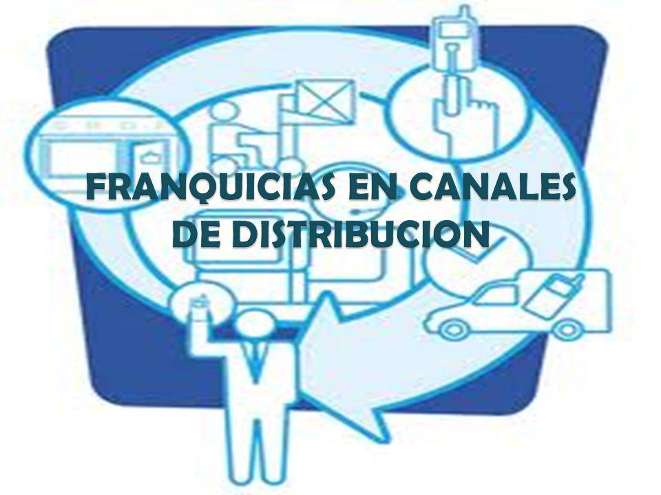 FRANQUICIAS EN CANALES DE DISTRIBUCION