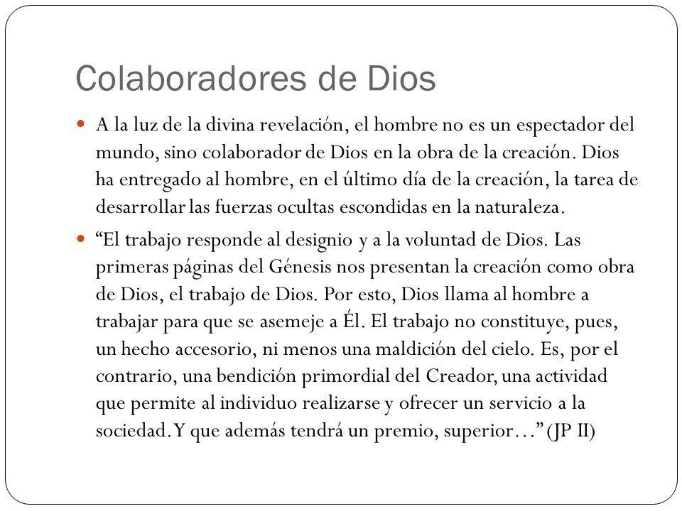 Colaboradores de Dios