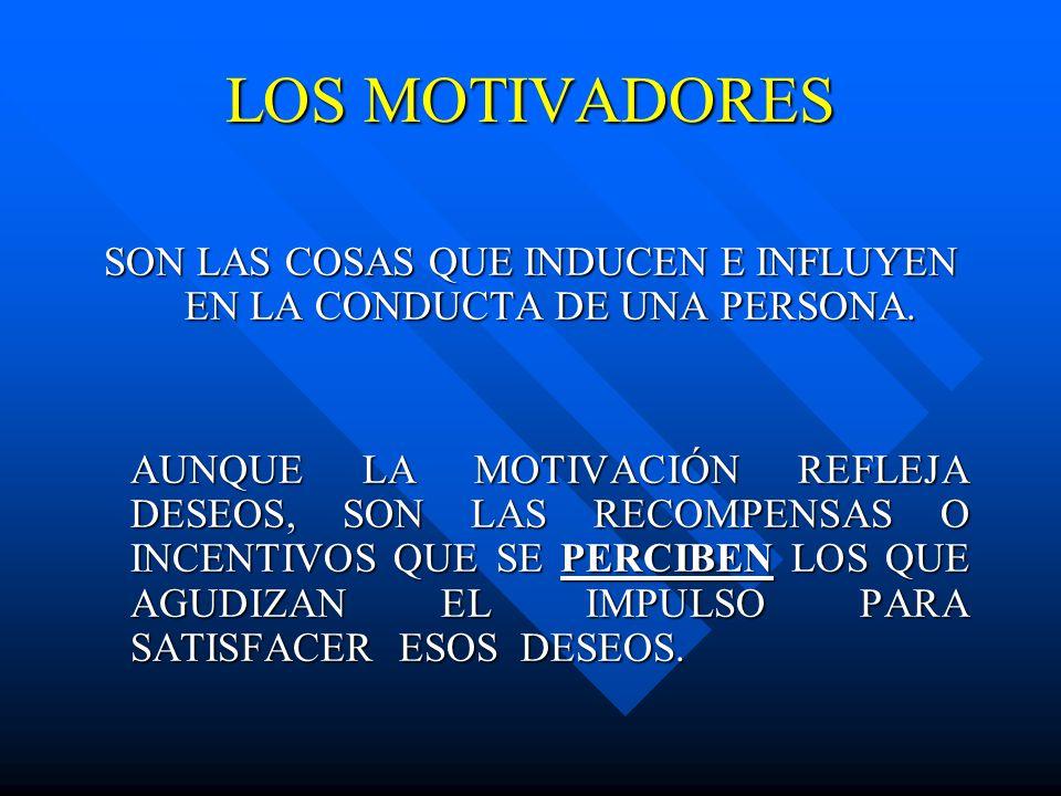 LOS MOTIVADORES