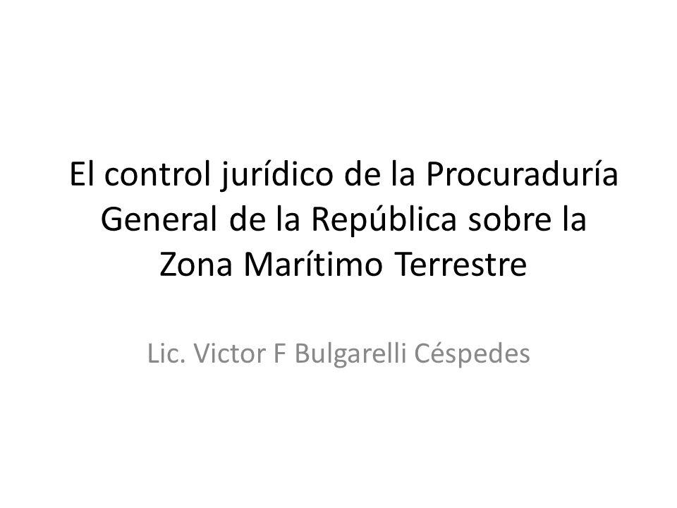 Lic. Victor F Bulgarelli Céspedes