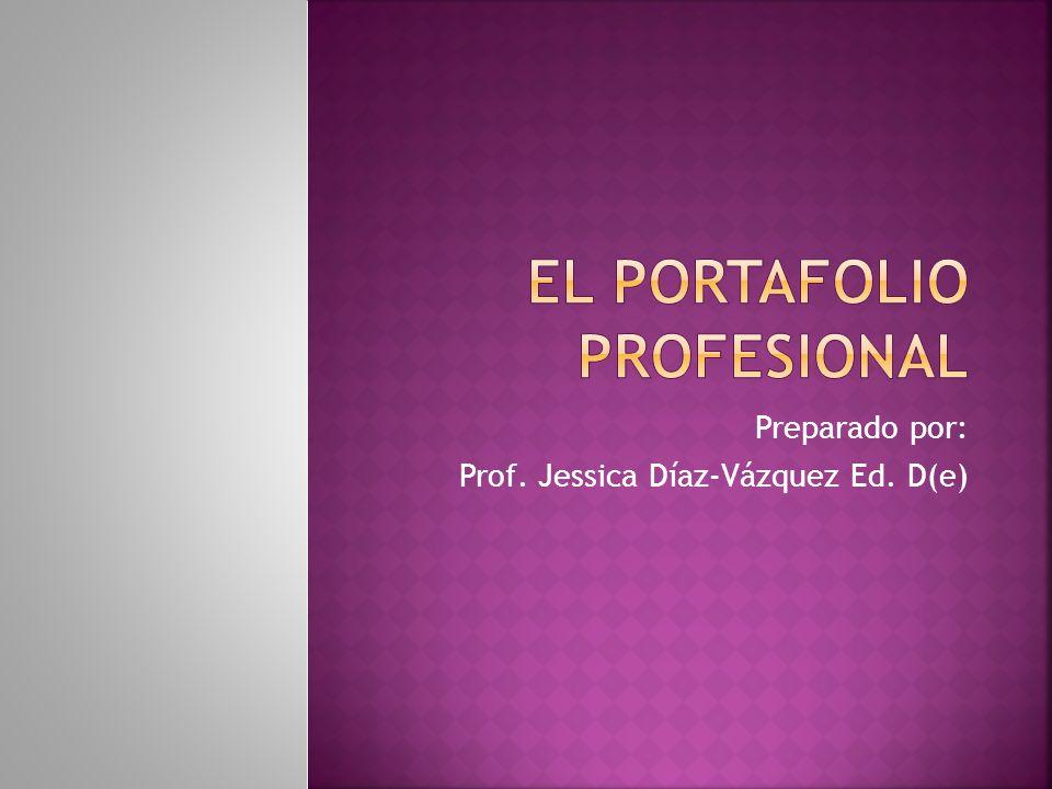 El portafolio Profesional