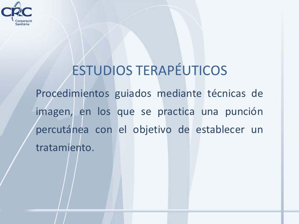 ESTUDIOS TERAPÉUTICOS