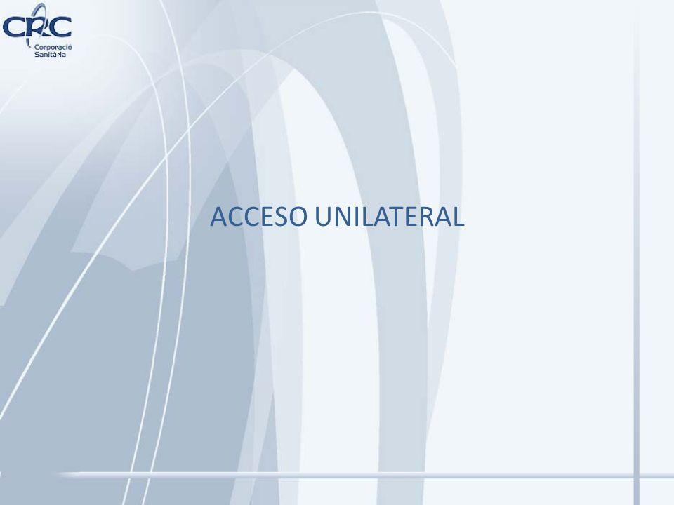 ACCESO UNILATERAL
