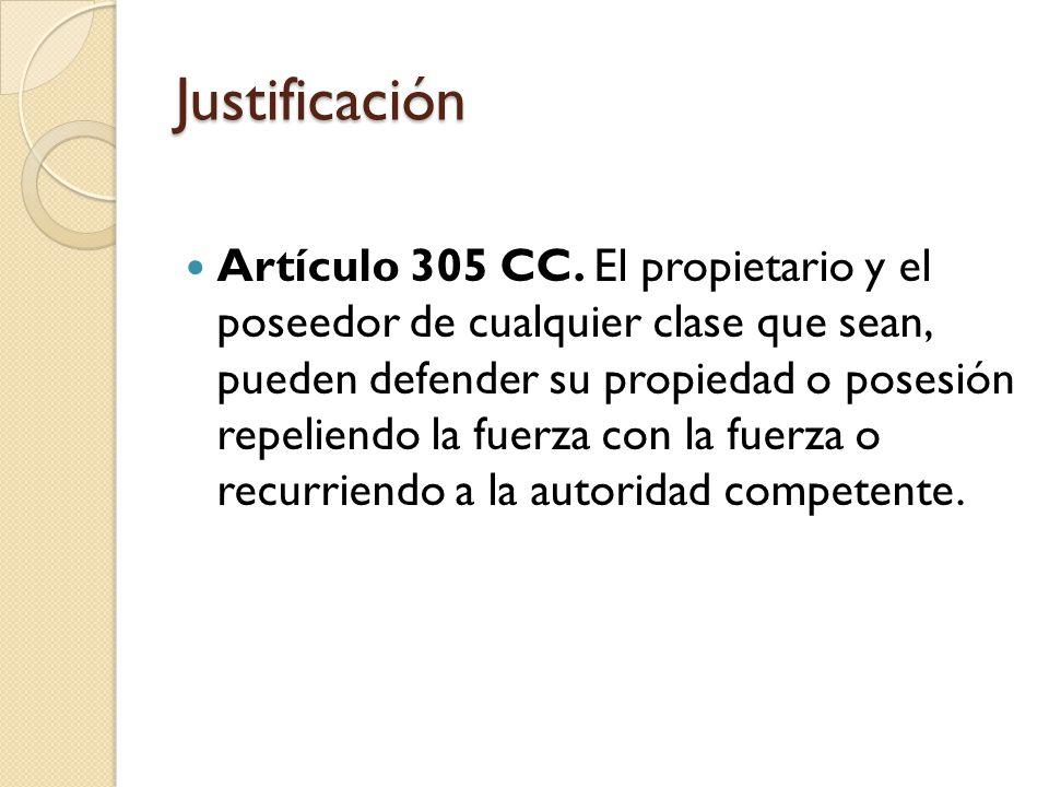 Justificación