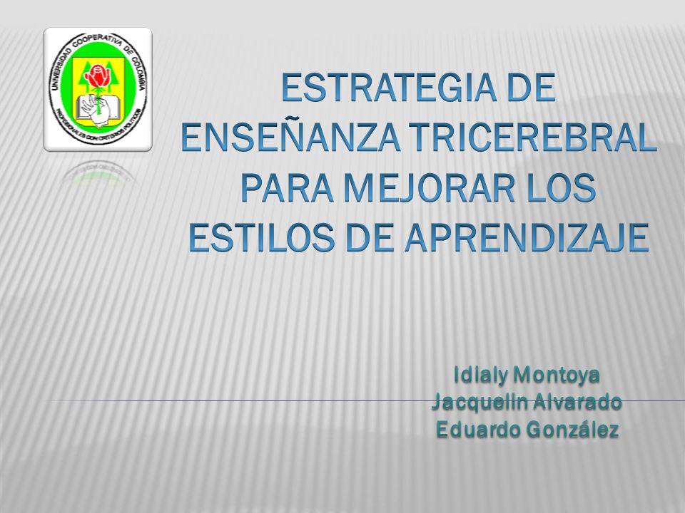 Idialy Montoya Jacquelin Alvarado Eduardo González