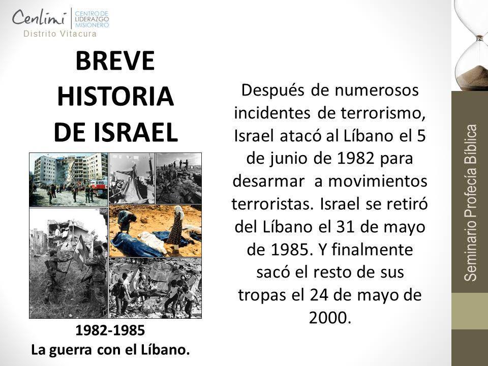 BREVE HISTORIA DE ISRAEL