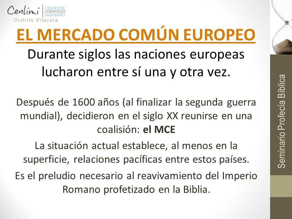 EL MERCADO COMÚN EUROPEO