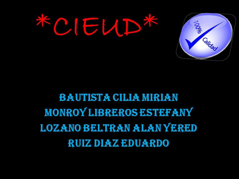 Monroy Libreros Estefany Lozano Beltran Alan Yered