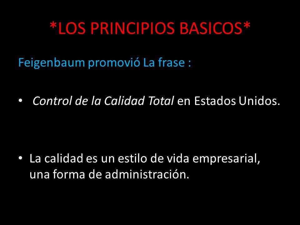 *LOS PRINCIPIOS BASICOS*