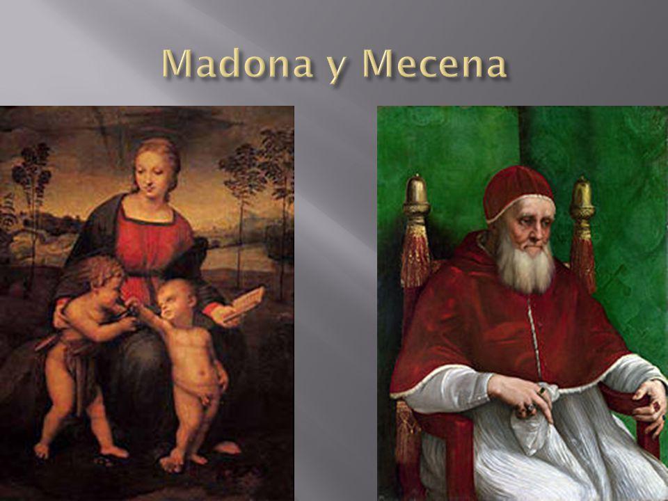 Madona y Mecena