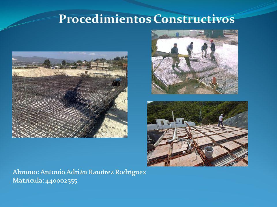 Procedimientos Constructivos