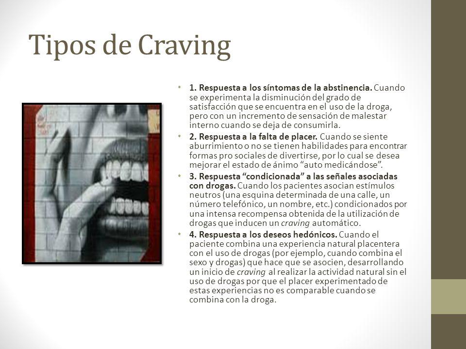 Tipos de Craving