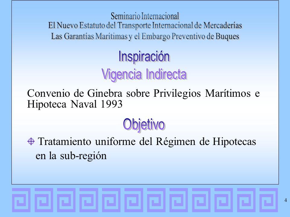 Convenio de Ginebra sobre Privilegios Marítimos e Hipoteca Naval 1993