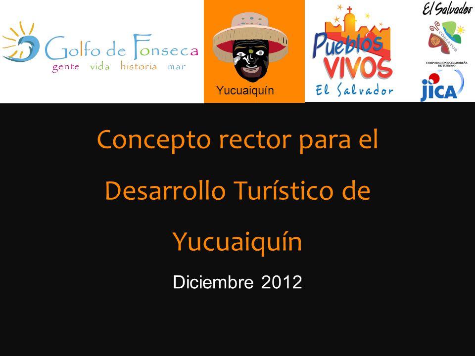 Concepto rector para el Desarrollo Turístico de Yucuaiquín