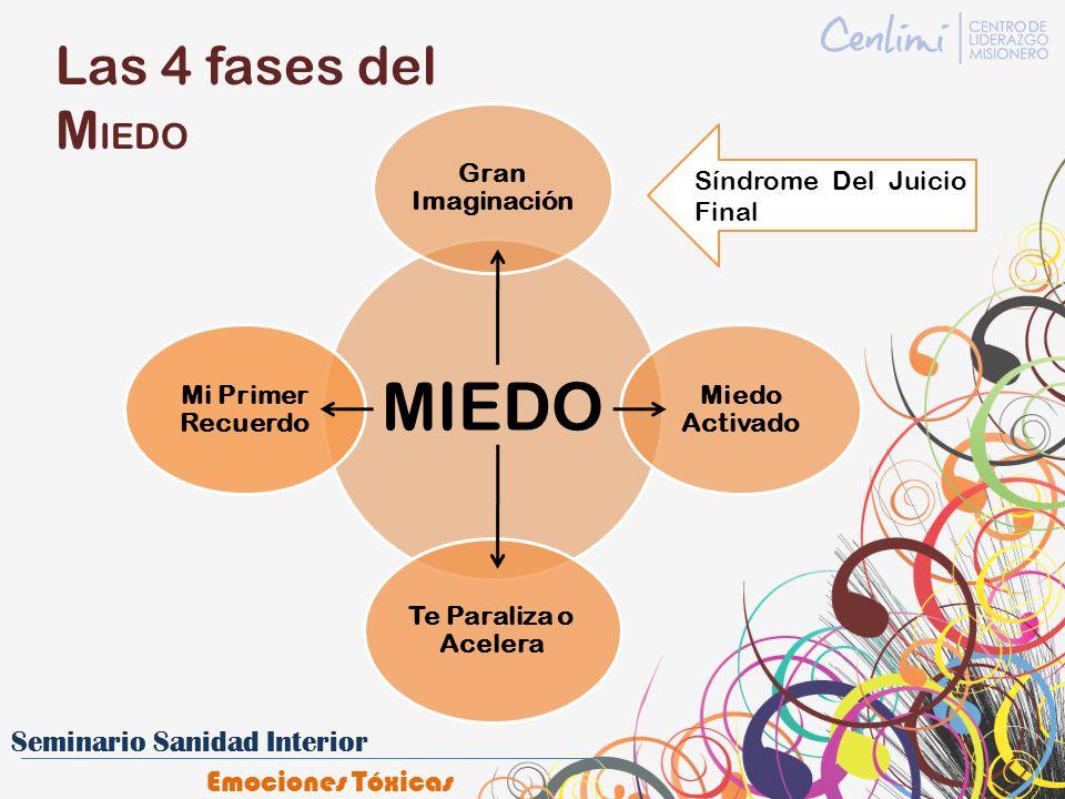 MIEDO Las 4 fases del MIEDO Gran Imaginación Síndrome Del Juicio Final